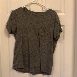 Madewell grey t shirt
